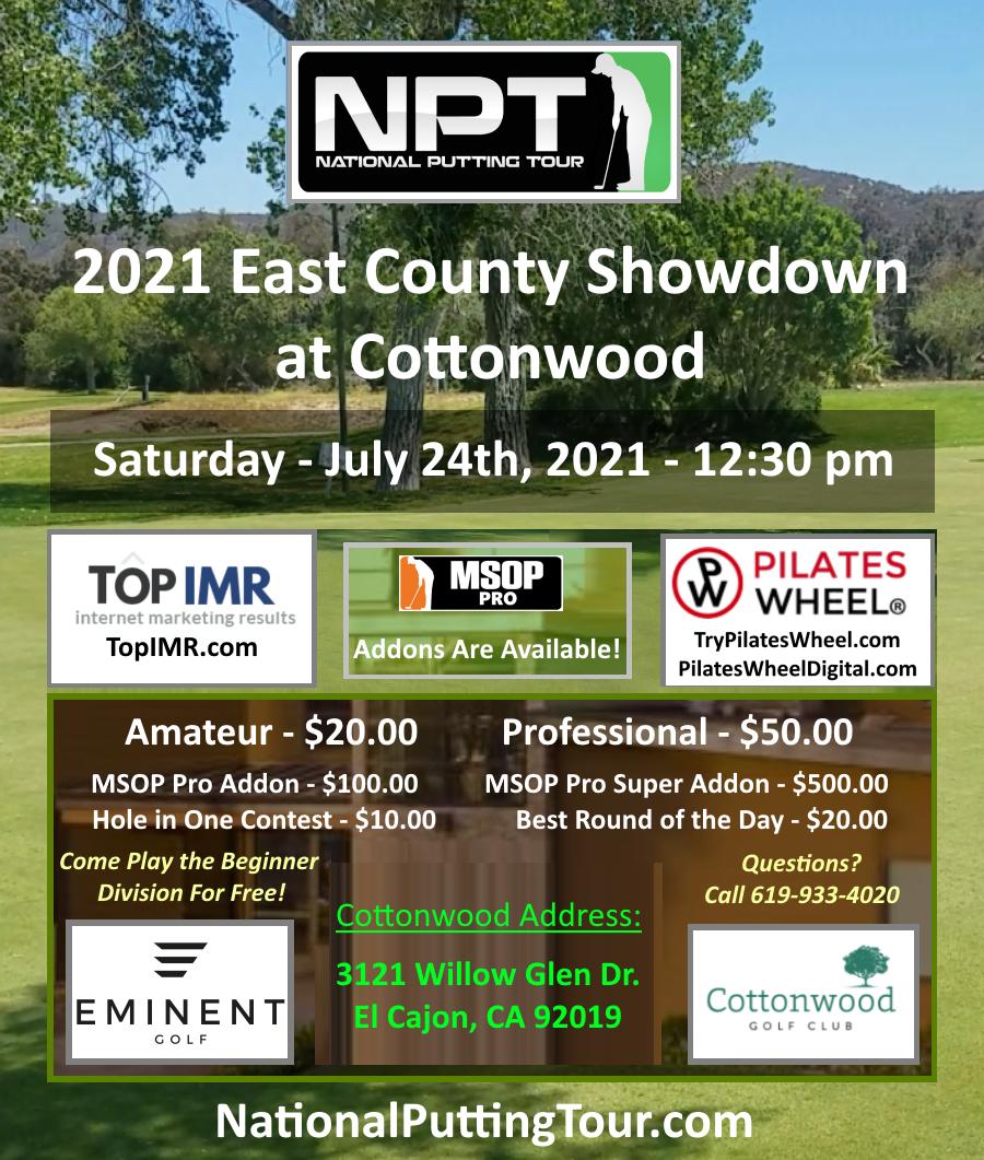 Event #15 Cottonwood Flyer